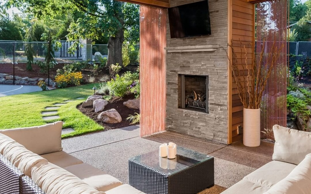 make upgrades to your outdoor spaces to create comfy usable areas in the yard